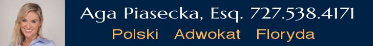 Polski Adwokat / Polski Prawnik Floryda Attorney Agnieszka Piasecka 727-538-4171