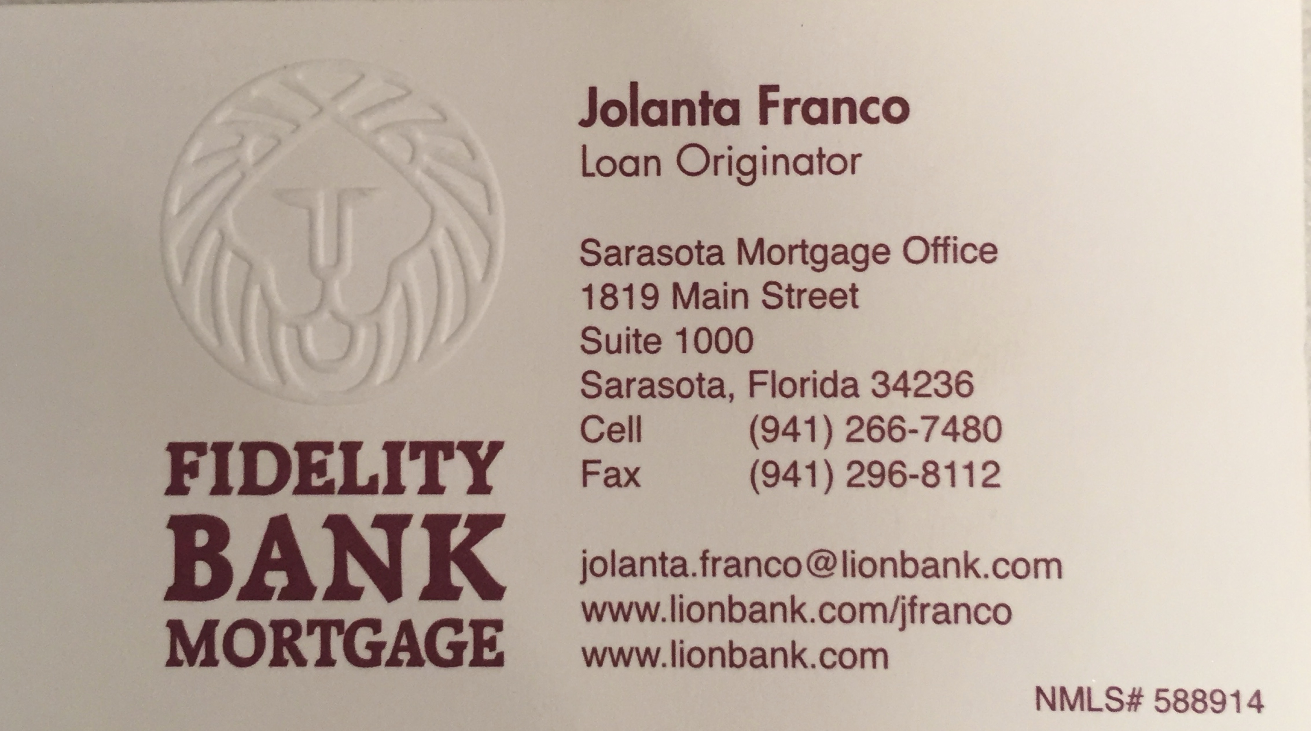 Jolanta Franco - Polish Loans