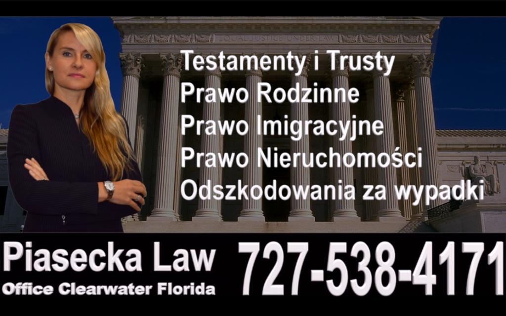 Polish, Attorney, Lawyer, Florida, USA, Polski, Prawnik, Adwokat, Floryda, Agnieszka Piasecka, Aga Piasecka, Piasecka