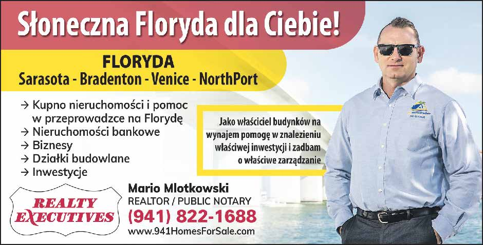 Mario Mlotkowski – Realtor & Notary Public, Serving: Sarasota, Bradenton, Venice, North Port, Florida