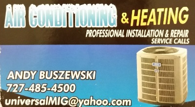 Air Conditioning & Heating - Andy Buszewski