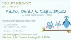 Polish School in Tarpon Springs