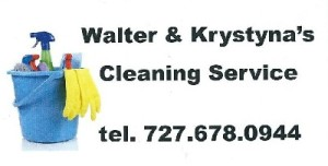Walter & Krystyna - Walter's Home Cleaning Service Corp.