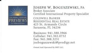 Boguszewski business card