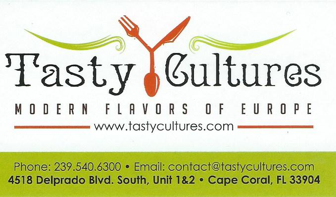 Tasty cultures business card