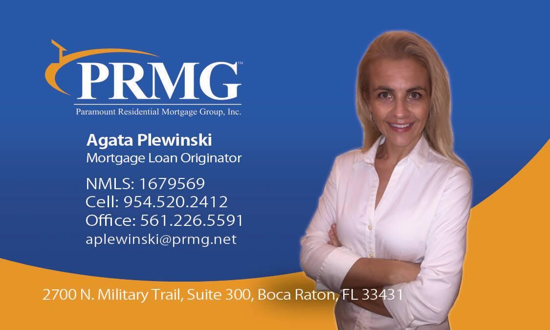 Agata Plewinski - Mortgage Loan Originator