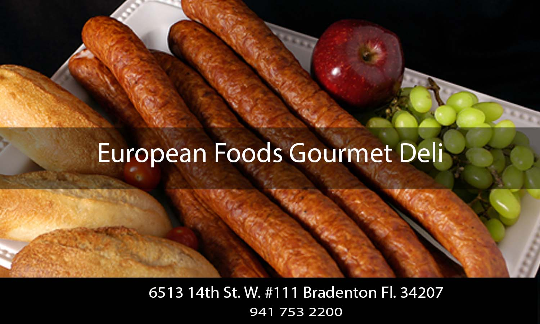 European Foods Gourmet Deli Bradenton