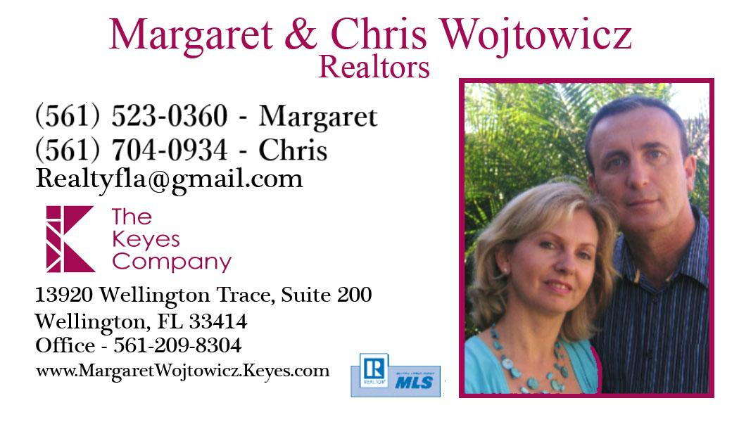 Margaret & Chris Wojtowicz - Realtors in Palm Beach County
