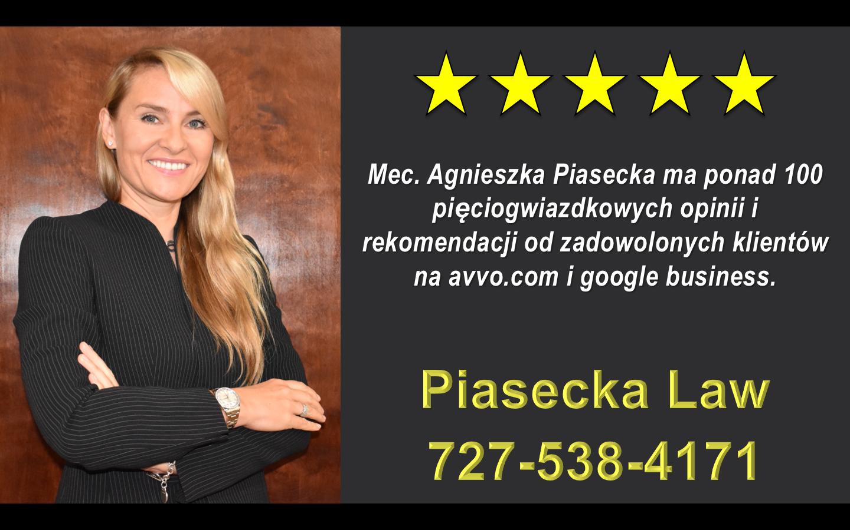 Agnieszka Aga Piasecka Reviews Polski Adwokat Prawnik Floryda USA