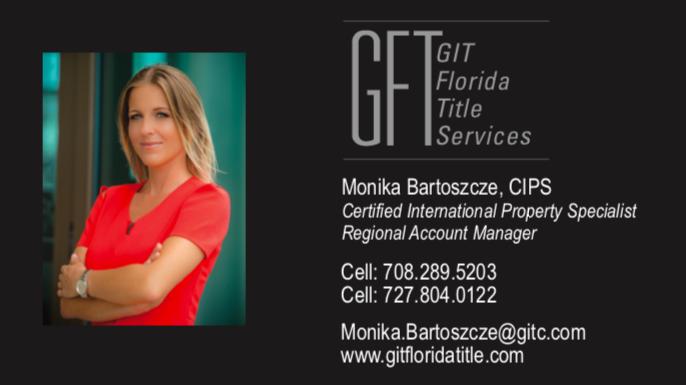 Monika Bartoszcze - title services