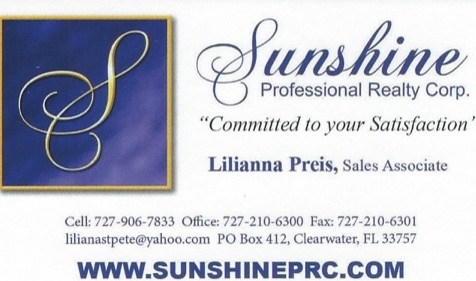 Lilianna Preis - Polish Realtor Pinellas Clearwater