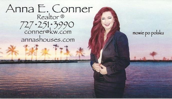 Anna Conner - Polish Realtor in Pinellas County