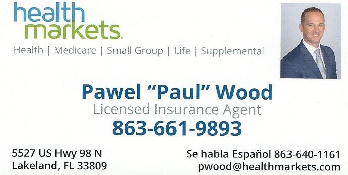 Paul Wood - Insurance Agent