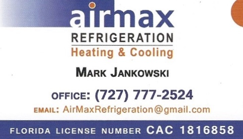 AirMax Refrigeration - Cooling and Heating - Mark Jankowski - Dunedin