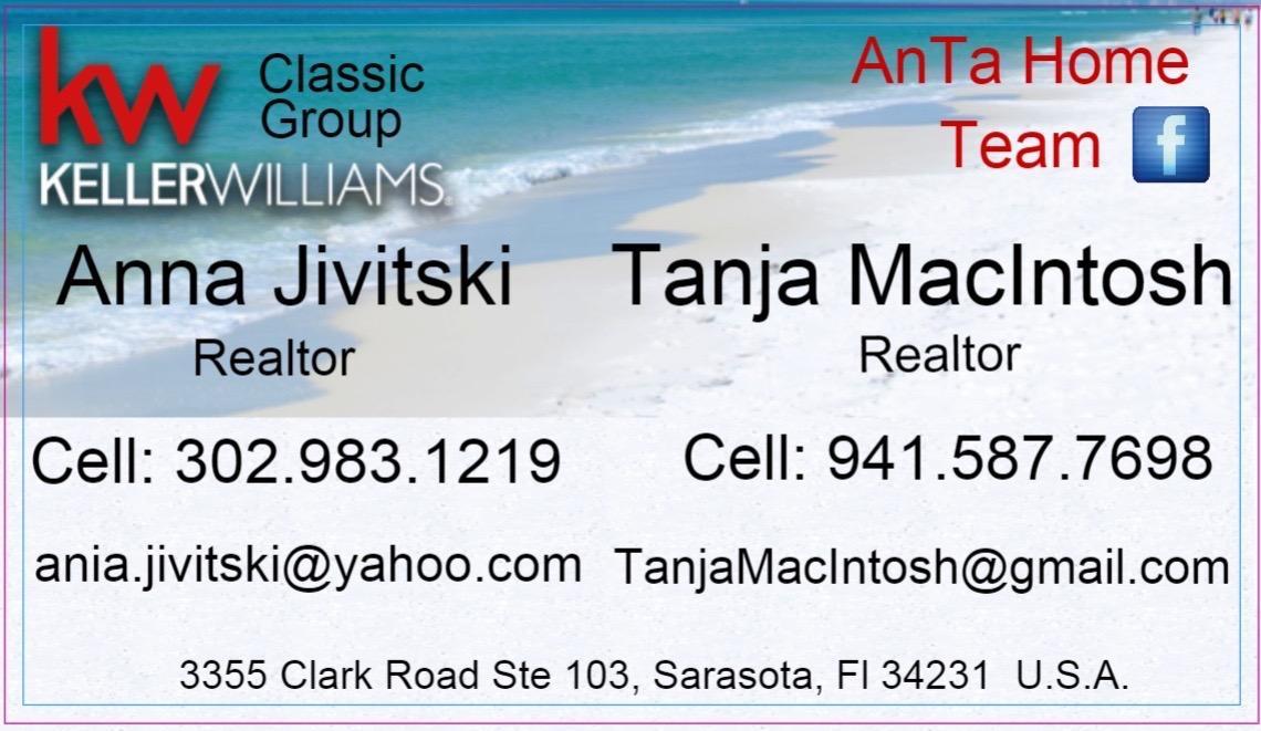 Anna Jivitski - Polish Realtor in Sarasota