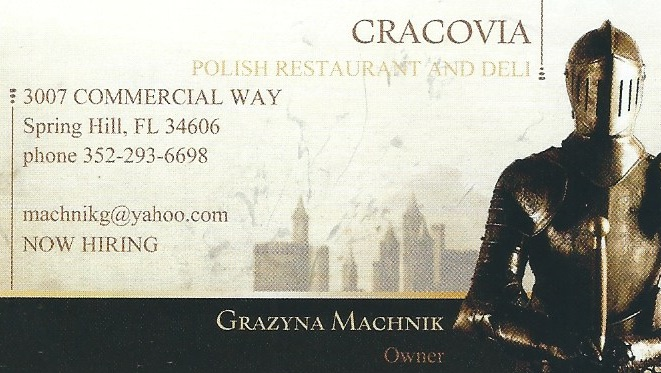 Cracovia Polish Restaurant