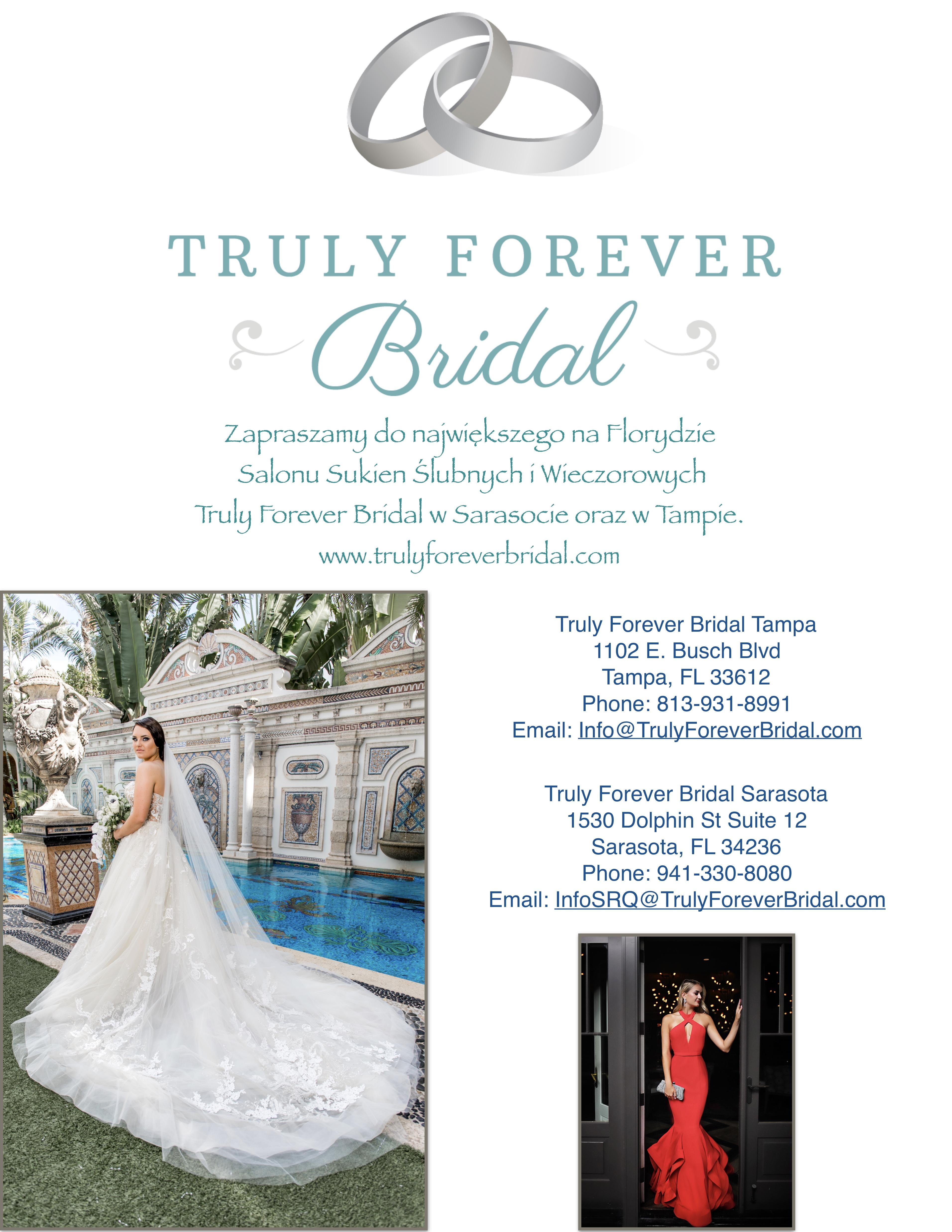 Truly Forever Bridal Salon Sukien Ślubnych i Wieczorowych