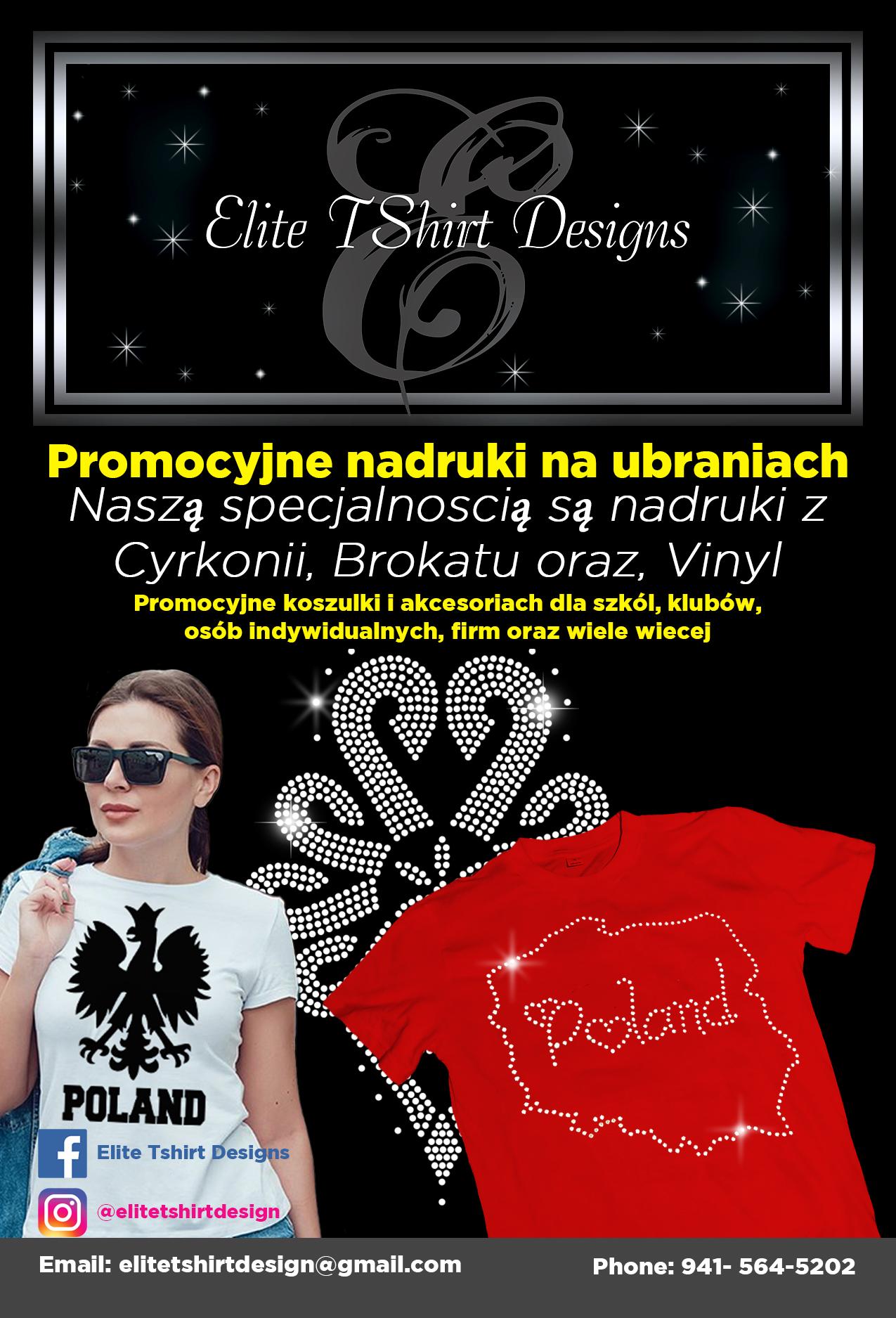 Nadruki na koszulkach - Elite TShirt Design