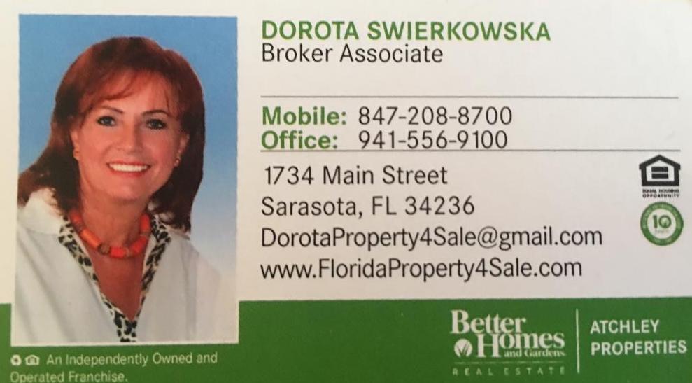 Dorota Swierkowska - Realtor in Sarasota