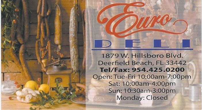 Euro Deli Deerfield Beach