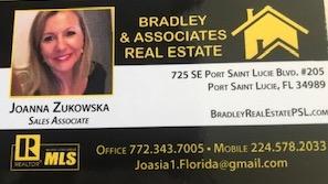 Joanna Zukowska - Realtor Port St. Lucie