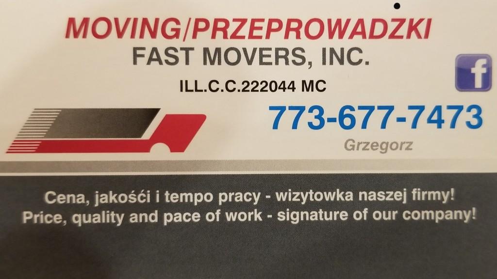 Moving Przeprowadzki Fast Movers Inc