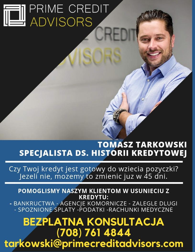 Prime Credit Advisors- Tomasz Tarkowski