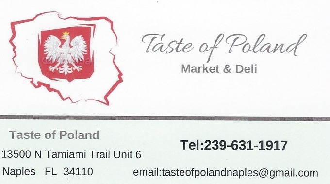 Taste of Poland1 - Naples Collier County