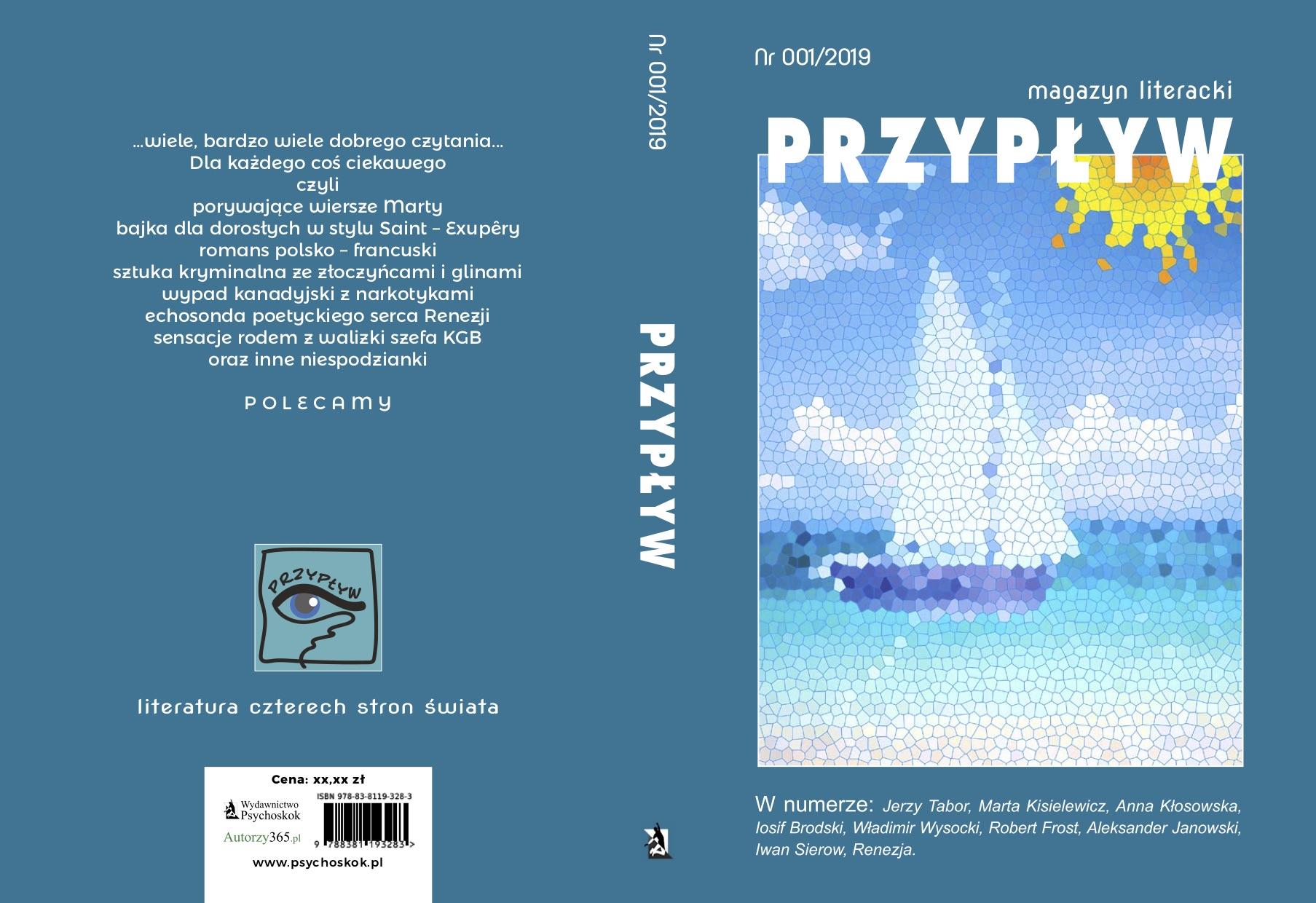 Okładka Przypływ Polish Magazine