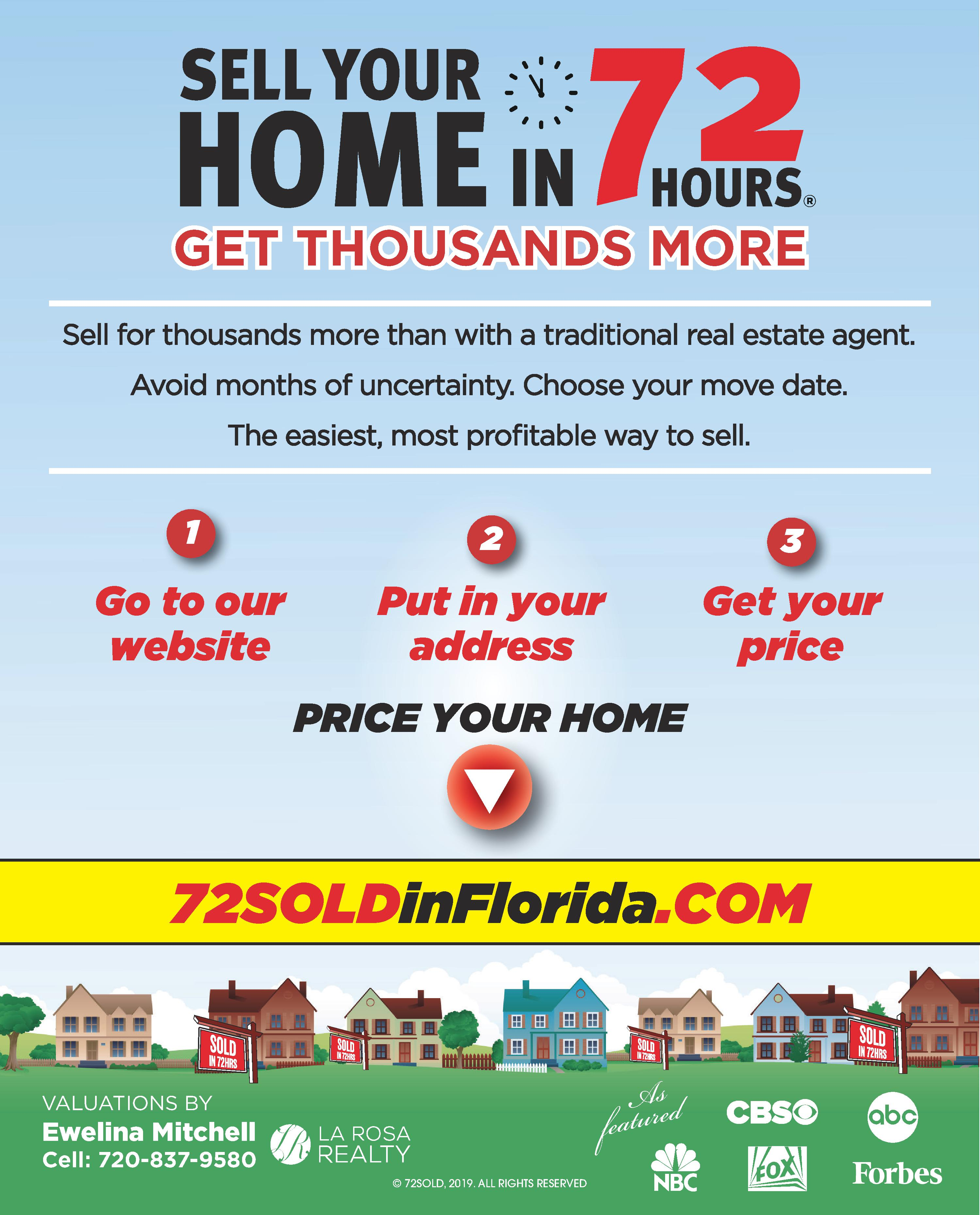 72Sold in Florida - Ewelina Mitchell Realtor