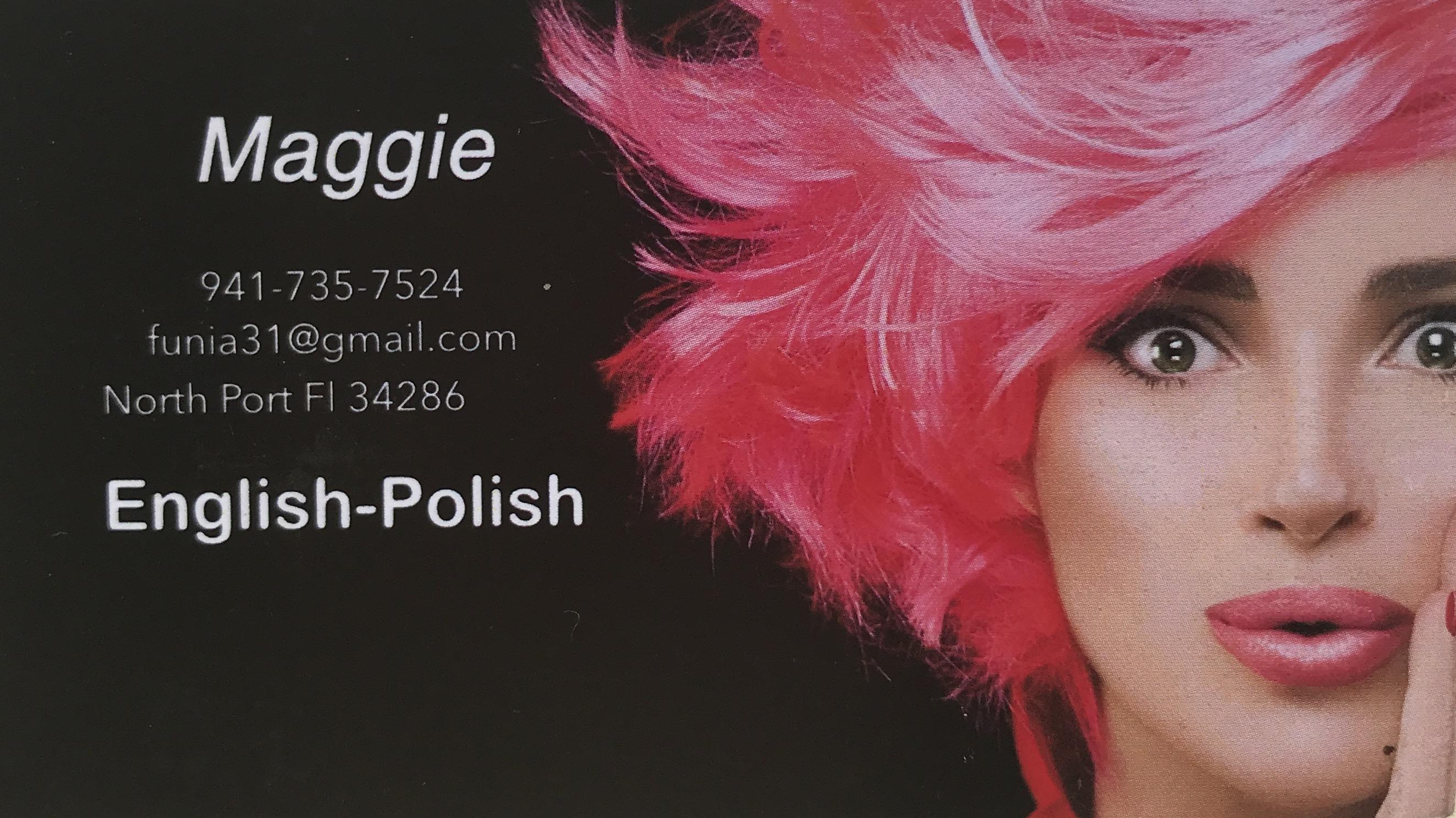 Maggie - Polish Hairstylist
